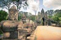 Angkor Thom, south entrance
