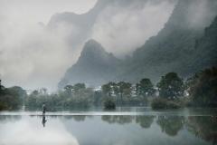 Fishing in Yangshuo