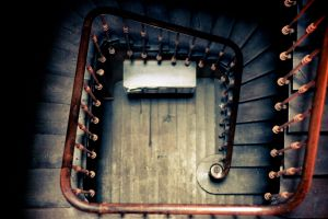 In the stairs #1