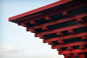 Chinese pavilion 2010, detail